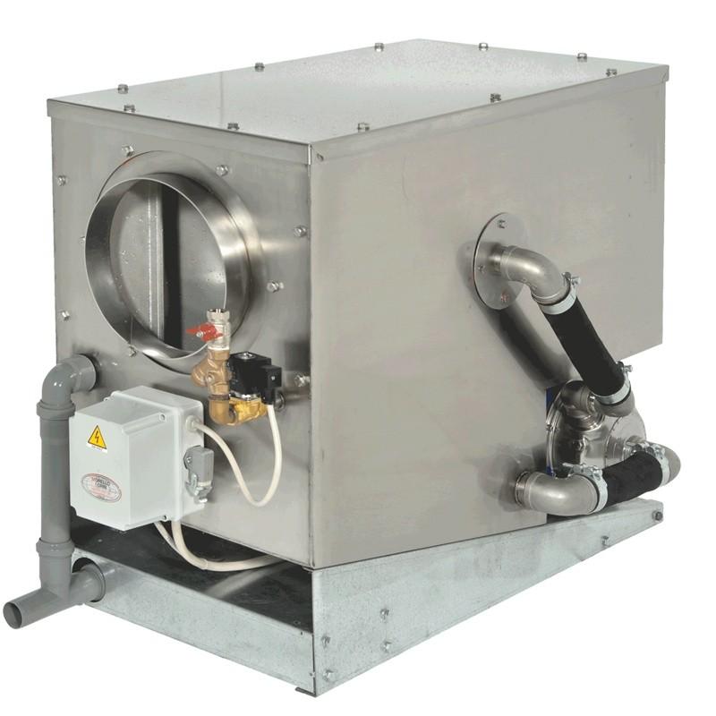 natural draught: junior: natural draught smoke filter / soot scrubber